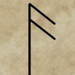 runa Ansuz, runy a věštění