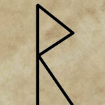 runa Raido, příprava kouzla