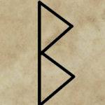 runa Berkana, divinace