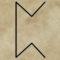 runa Pertho, divinace