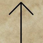 runa Teiwaz, divinace