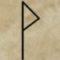 runa Wunjo, runy a věštění, divinace