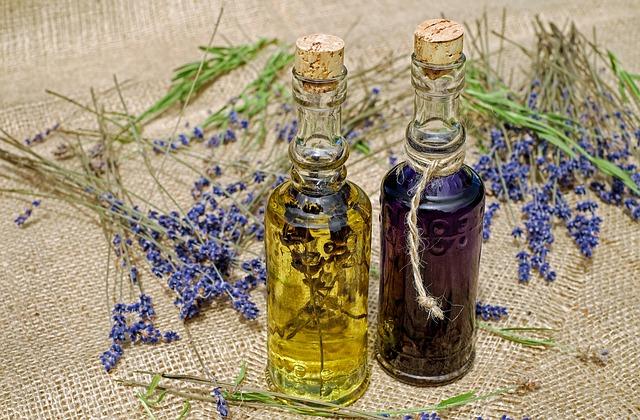 byliny k zevnímu použití, oleje