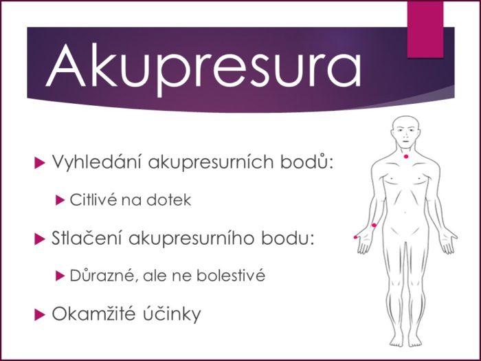 akupresura, akupresurní body, akupunktura