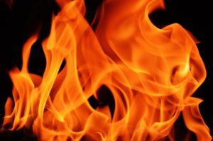 byliny a živly, oheň
