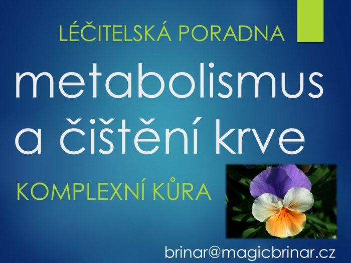 metabolismus, látková, výměna, očistná kůra