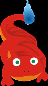 salamandr, oheň