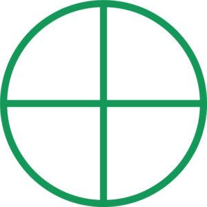 sluneční kříž, symbol Země