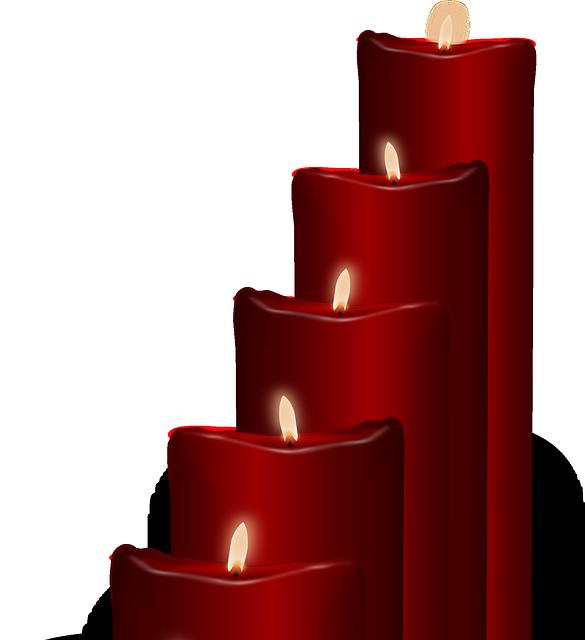 kouzlo odvahy, odvaha, svíčka