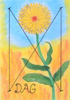 runa Dagaz, Dag, starodávné runy