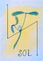 runa Sowulo, Sol, runy a věštění