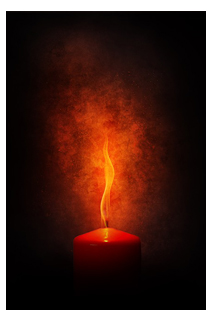 magické svíce, magie svící