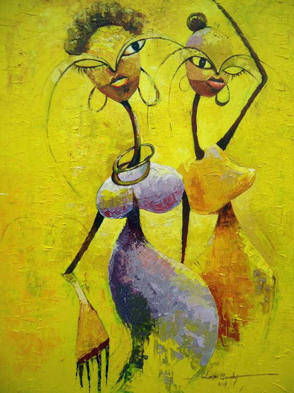 obrazy, Lawani Sunday, malba, umění, prodej, galerie, Lawani Sunday's paintings, art, gallery, paintings, sell