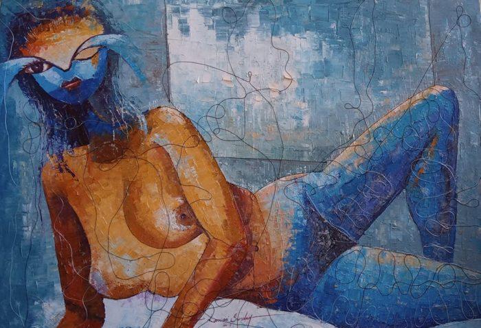 Lawani Sunday's paintings, art, paintings, Lawani Sunday, prodej, galerie, obrazy, malba, umění