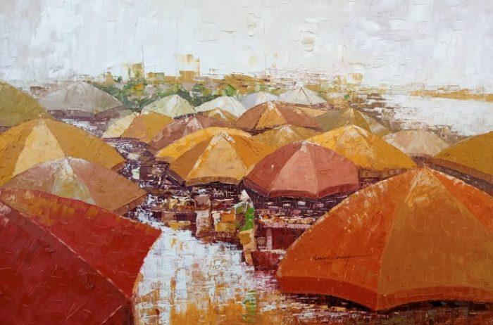 obrazy, Lawani Sunday, malba, umění, prodej, galerie, Lawani Sunday's paintings, art, paintings, gallery, paintings for sell, sell