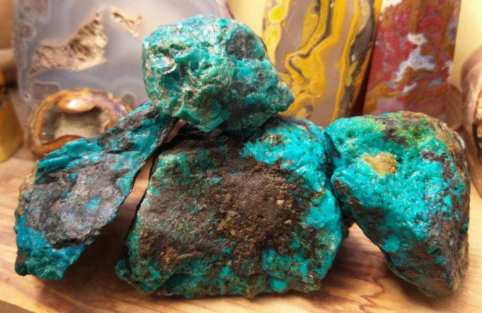 kameny, minerál, nerost, nerosty, chryzokol, chrysokol, chrysocolla, raw, surový