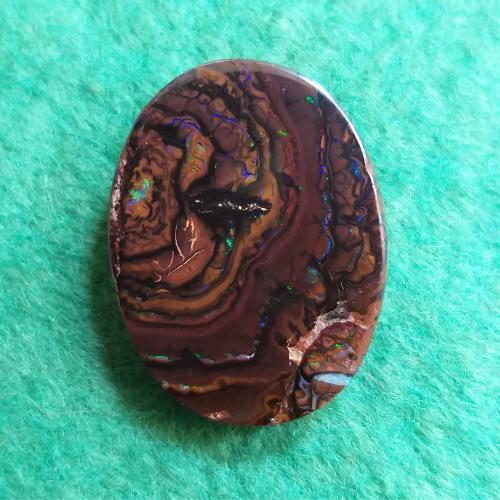 nerost, mineral, kámen, stone, opál, opal, koroit opal, boulder opal, australský opál, Australian opal
