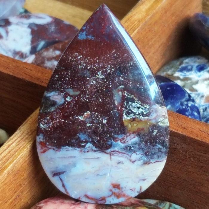 nerost, mineral, kámen, stone, jaspis, jasper, kabošon, cabochon