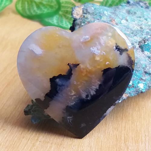 nerost, mineral, kámen, stone, achát, agate, dendritický achát, dendrite agate, kabošon, cabochon