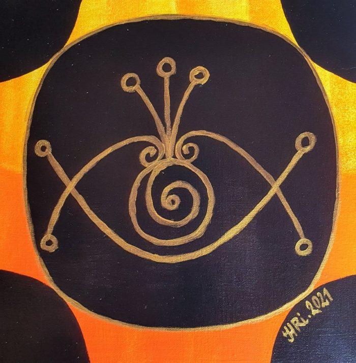 duchovní umění, umění, malba, užité umění, magický symbol, magie, symbol